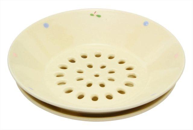 水切皿(ももドット)