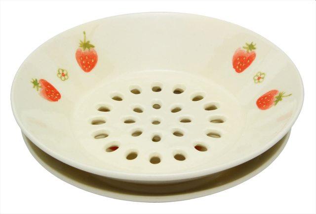 水切皿(いちご)