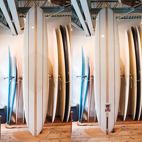 [CHRISTENSON SURFBOARDS] CALIFORNIA PIN 9'6