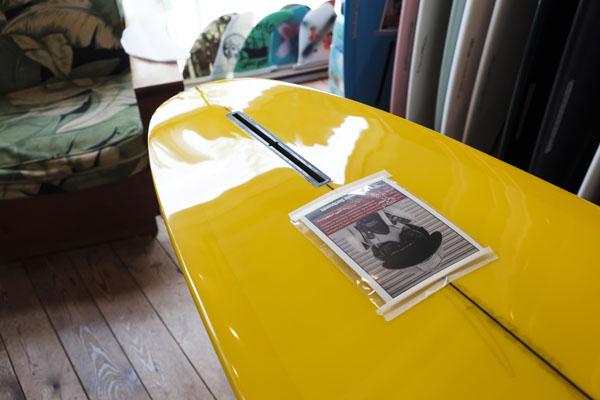 CHRISTENSON SURFBOARDS, FLAT TRACKER