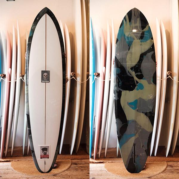 [CHRISTENSON SURFBOARDS] FLAT TRACKER 7'2