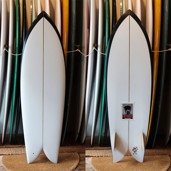 [CHRISTENSON SURFBOARDS] TWIN FISH  5'8""