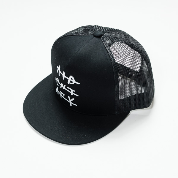 "[AIDENTIFY] PRINT Cap ""DRIP"" BLACK"