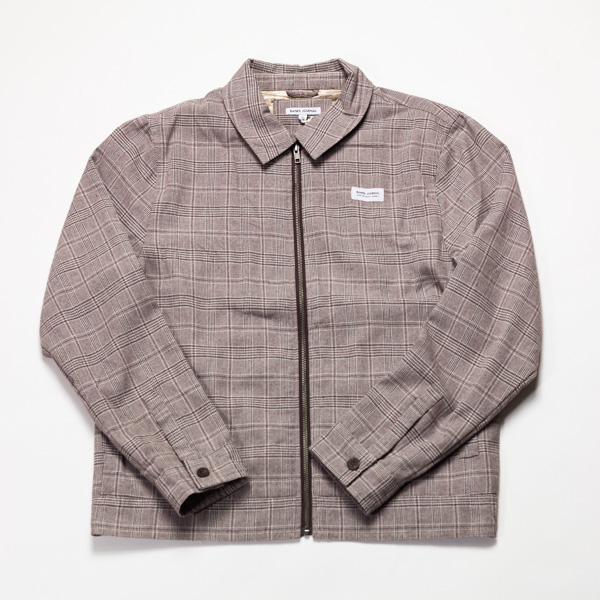 [BANKS] MOSELY GINGHAM JACKET