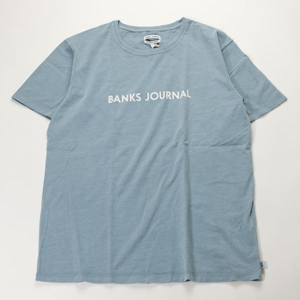 [BANKS] LABEL TEE