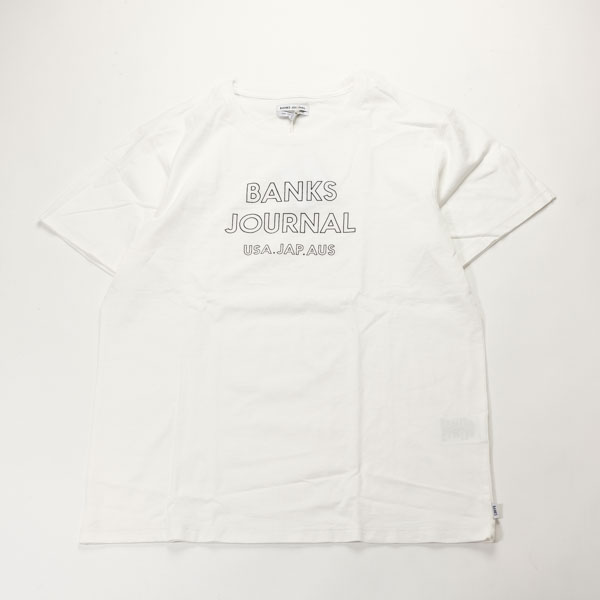 [BANKS] OUTLINE TEE