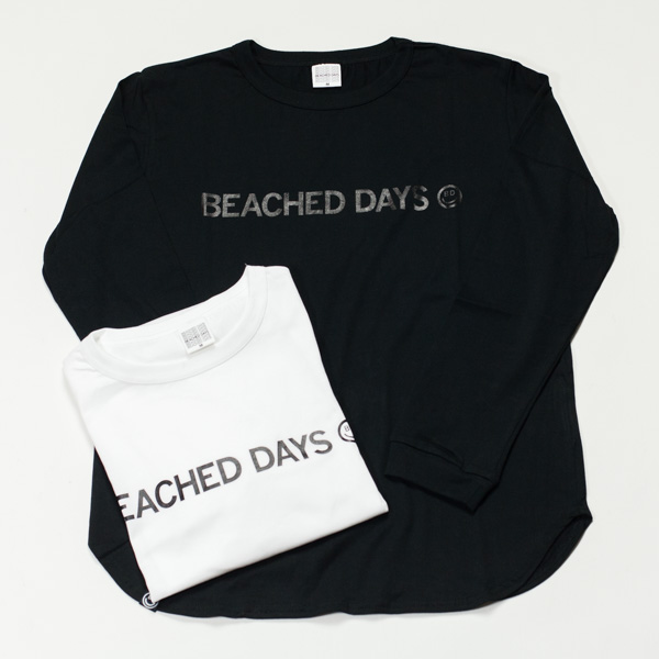 [BEACHED DAYS] BEACHED DAYS L/S TEE