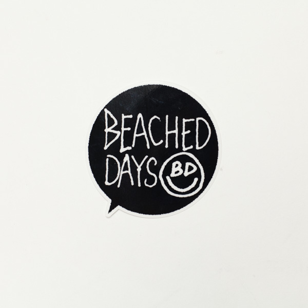 [ BEACHED DAYS ] BALOON STICKER