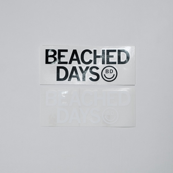 [ BEACHED DAYS ] BD LOGO STICKER