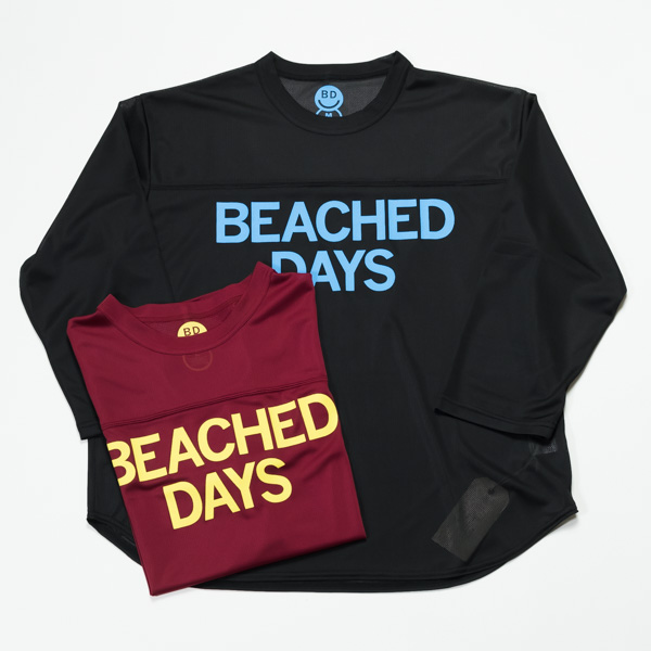 [BEACHED DAYS] MESH QS TEE