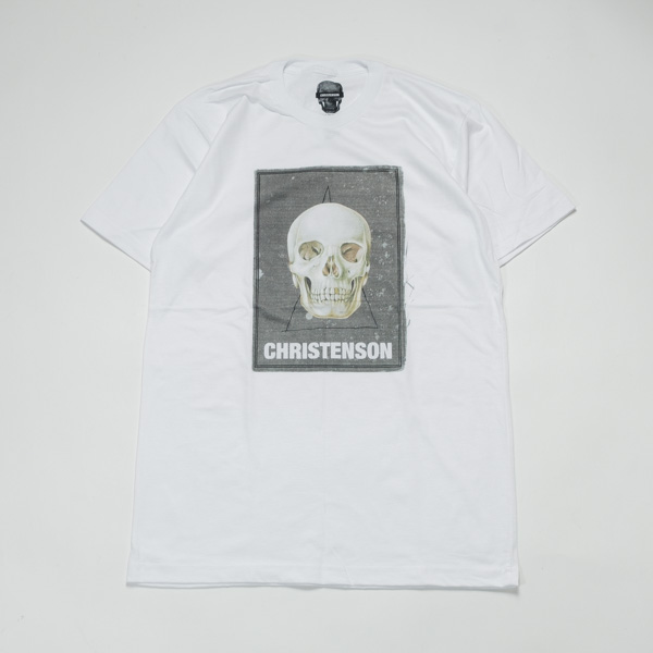 [CHRISTENSON SURFBOARDS] CIGAR SKULL SS TEE
