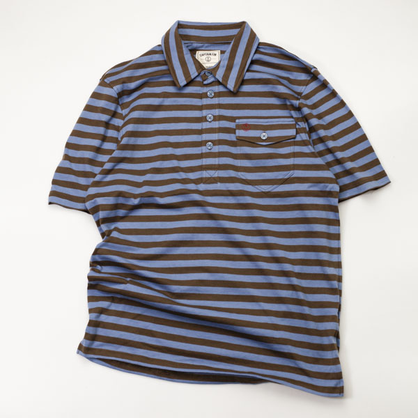 [CAPTAIN FIN Co.] THE BUSHWOOD S/S POLO