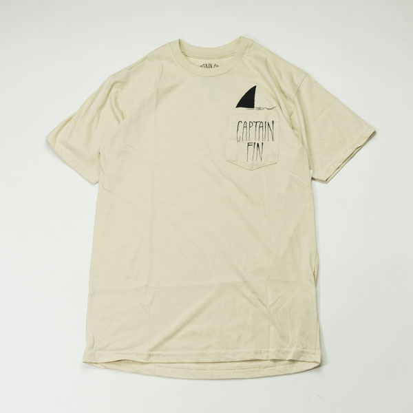 [CAPTAIN FIN Co.] SHARK FIN S/S PRE PKT TEE