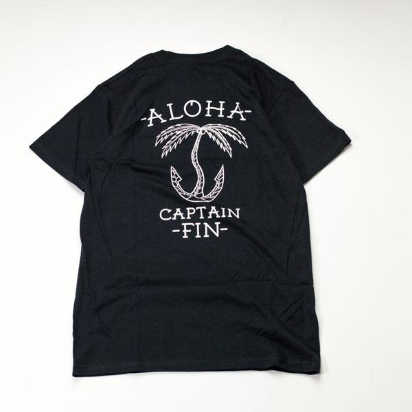 [CAPTAIN FIN Co.] ANCHOR PALM S/S PRE TEE