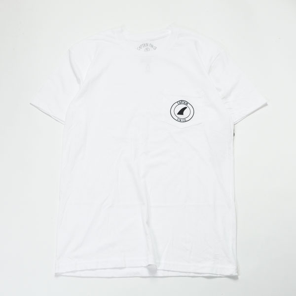 [CAPTAIN FIN Co.] CREST 2 PKT SS TEE