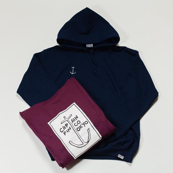 [CAPTAIN FIN Co.] CF TOKYO HOODIET