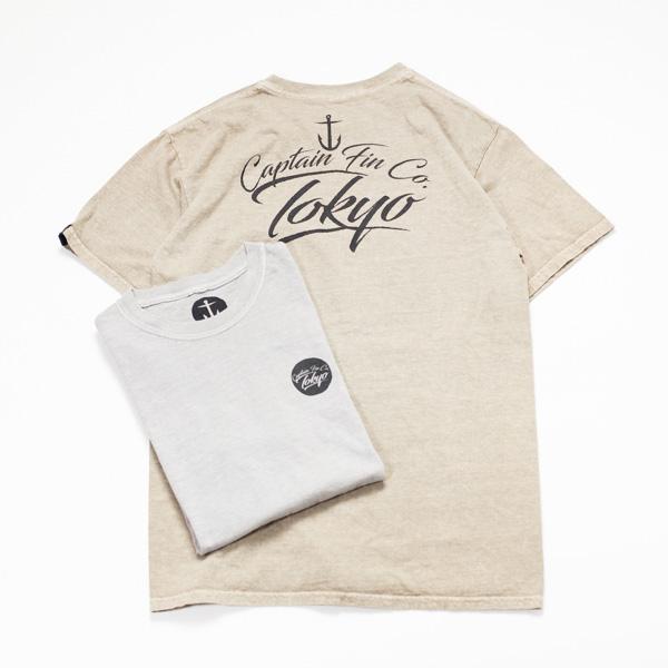 [CAPTAIN FIN Co.] TOKYO ORIGINAL TEE