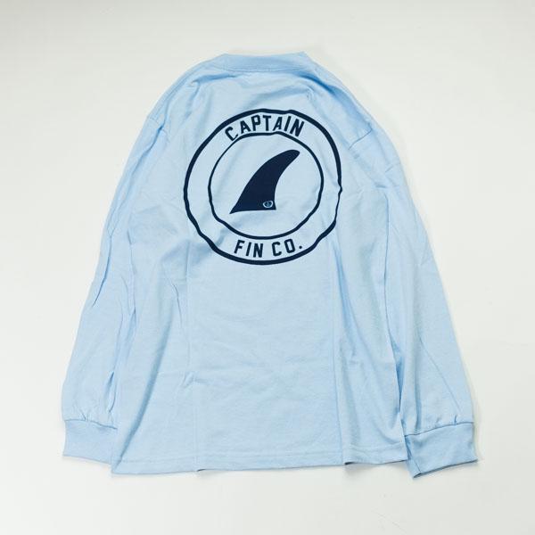 [CAPTAIN FIN Co.] CREST LS TEE