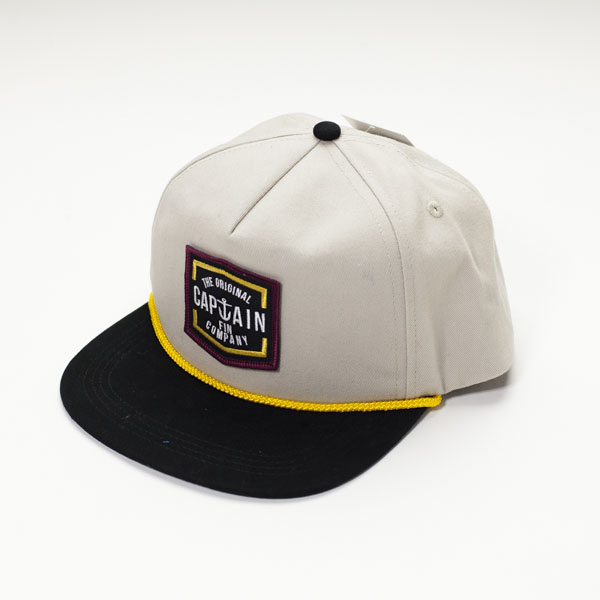 [CAPTAIN FIN Co.] LYNARD 5 Panel Hat