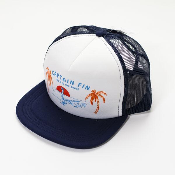 [CAPTAIN FIN Co.] HANG TEN Trucker Hat