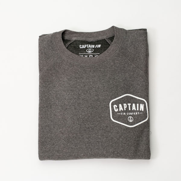 [CAPTAIN FIN Co.] CLASSICAL RAGLAN CREW FLEECE