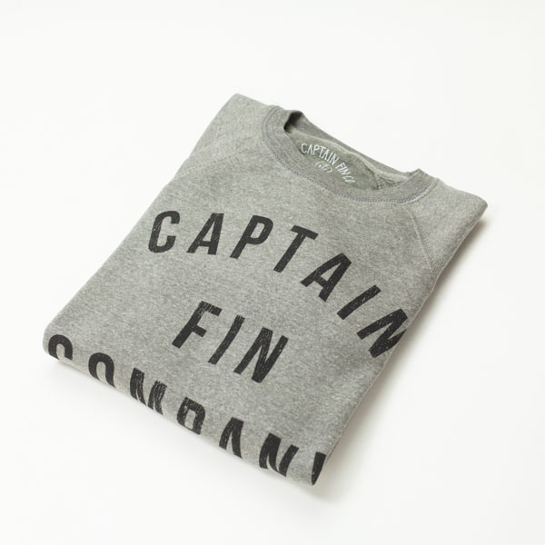 [CAPTAIN FIN Co.] COLLEGE RAGLAN CREW FLEECE