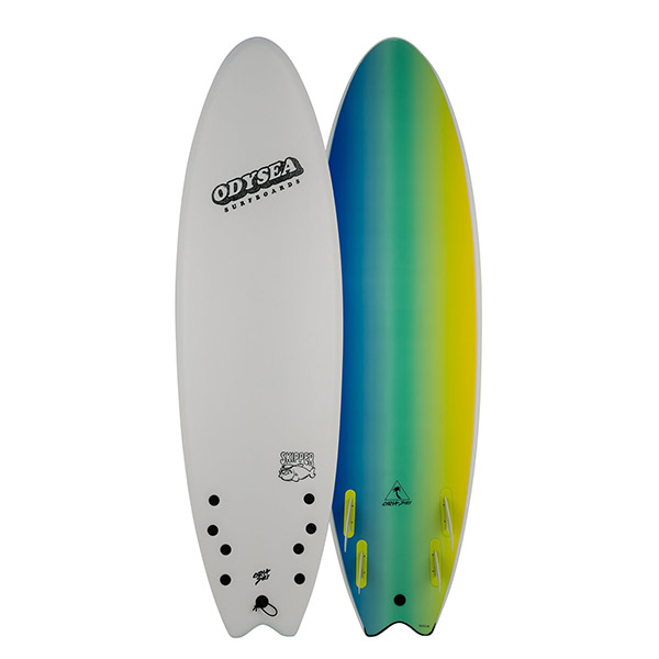 [CATCH SURF] ODYSEA 6'6 SKIPPER QUAD / WHITE
