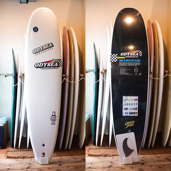 [CATCH SURF] ODYSEA7.6 PLANK  / WHITE/ BLACK