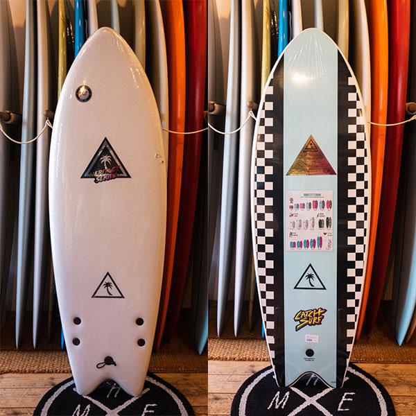 "[CATCH SURF] Heritage series Retro Fish 5'6"" L. Blue"