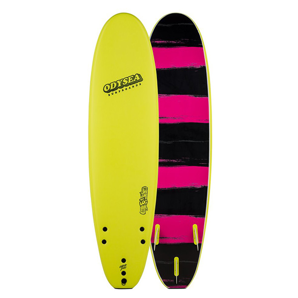 [CATCH SURF] ODYSEA 7.0' LOG - ELECTRIC LEMON