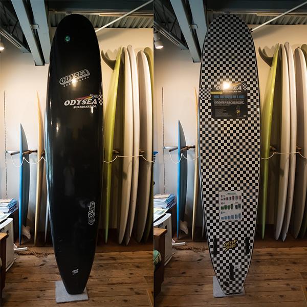 [CATCH SURF] ODYSEA 9.0LOG SMU-BLACK/CHECKER