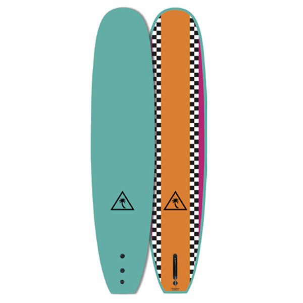 [CATCH SURF]  HERITAGE 8'6'' NOSERIDER - SINGLE TQZ/ORANGE