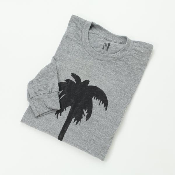 [DYER BRAND] PALM Premium L/S TEE