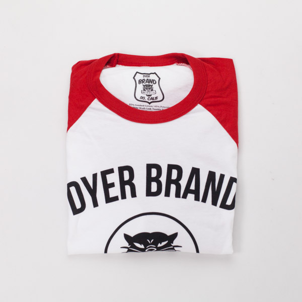 [DYER BRAND] HANDBUILT Premium Baseball T-Shirt