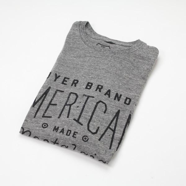 [DYER BRAND] NOSTALGIA Premium S/S T-Shirt/GRY