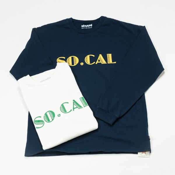 [SLOPPY] SO.CAL LS TEE
