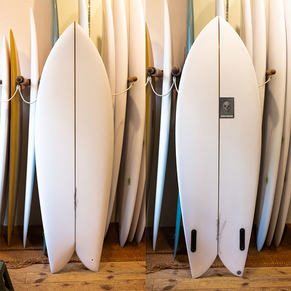 [CHRISTENSON SURFBOARDS] TWIN FISH  5'6