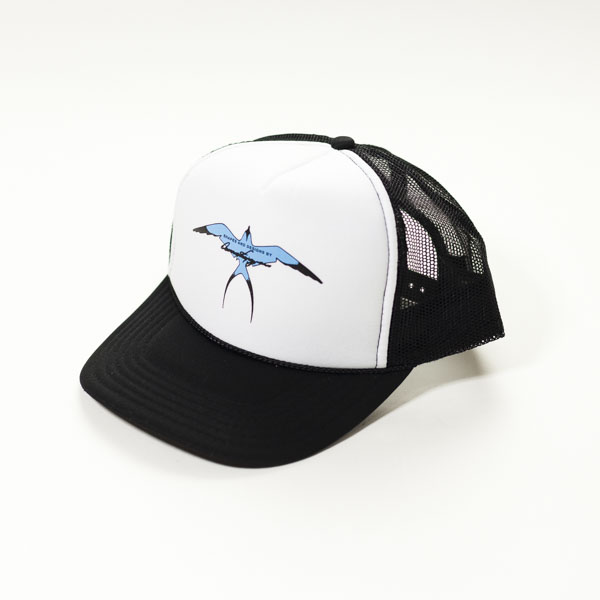 [H.P.D] DT TRUCKER HAT BULE BIRD