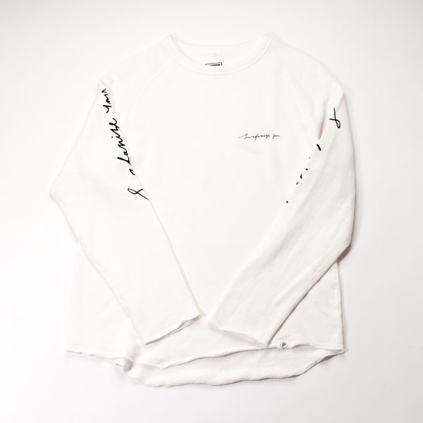 "[P SUPLY]  "" SURFANIZE YOU"" SWEAT L/S"