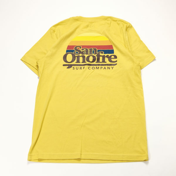 [SAN ONOFRE SURF CO.] OLD SCHOOL SUN YELLOW