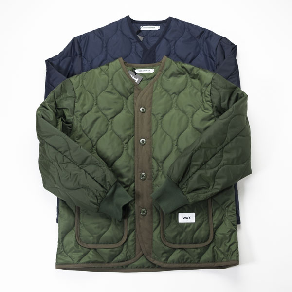 [THE HARD MAN] Quilting liner jacket