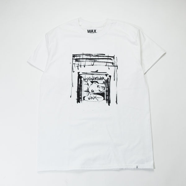 "[THE HARD MAN] WAX design tee ""Gal"""