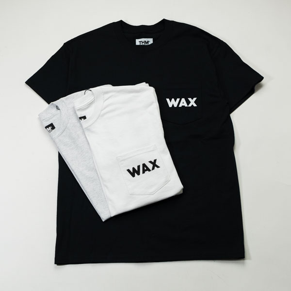 [THE HARD MAN] WAX pocket S/S TEE
