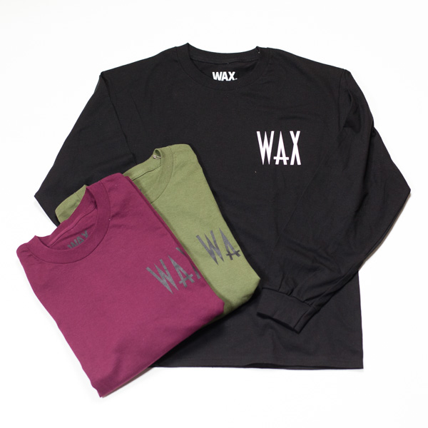 [THE HARD MAN] WAX Loose Fit L/S Tee
