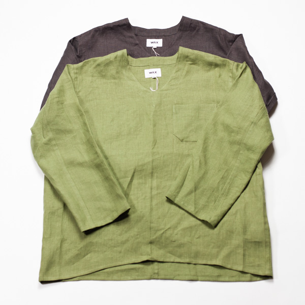 [THE HARD MAN] Linen sleeping shirts