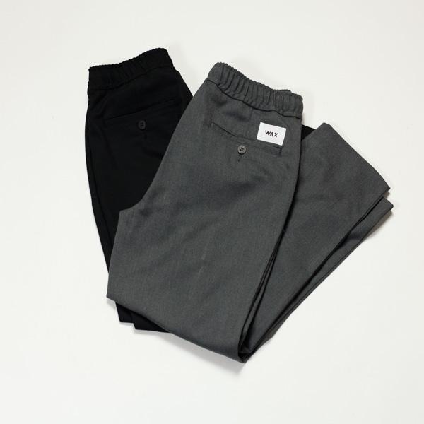 [THM] WAX PIN TUCK TERMO LITE PANTS