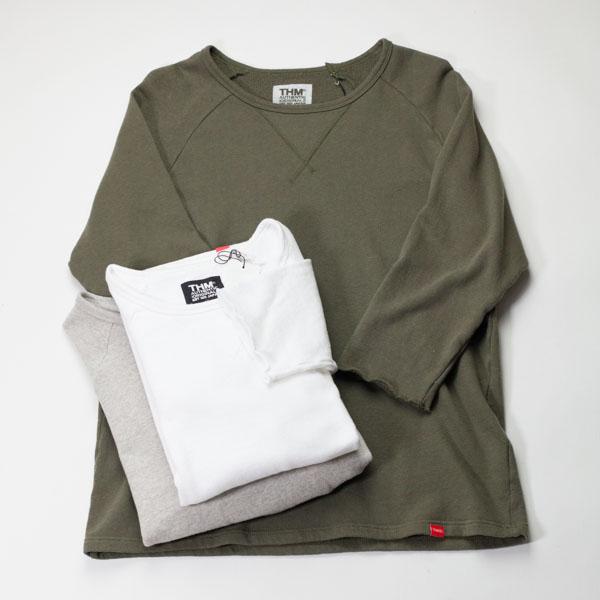 [THE HARD MAN] Vintage cotton 3/4 sleeve