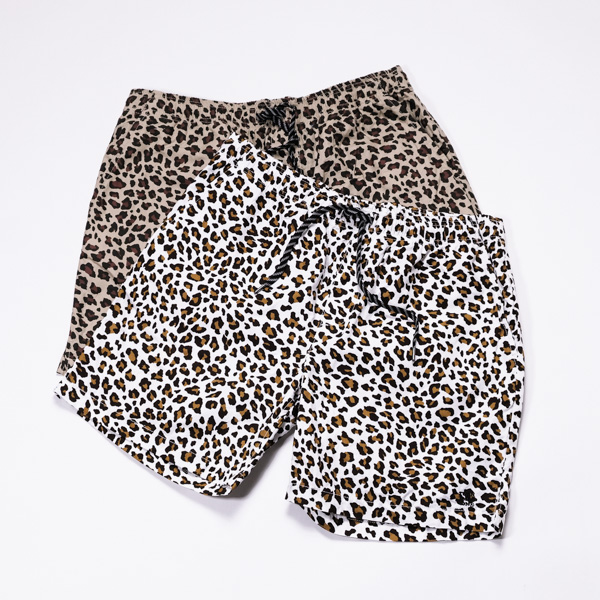 [TURN ME ON] LEOPARD SHORTS