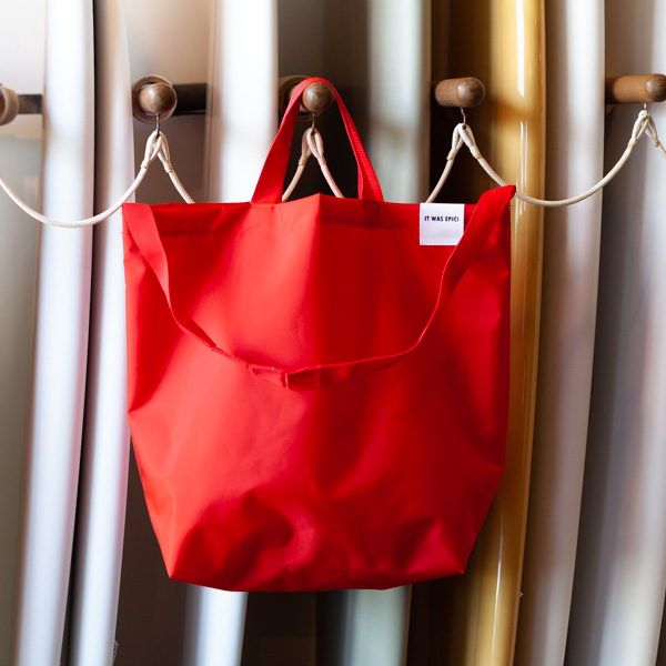 [WOW-OH] TOTE BAG RED L
