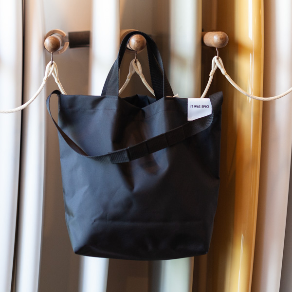 [WOW-OH] TOTE BAG BLACK S